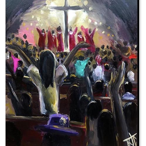 Hallelujah : Finger Painting