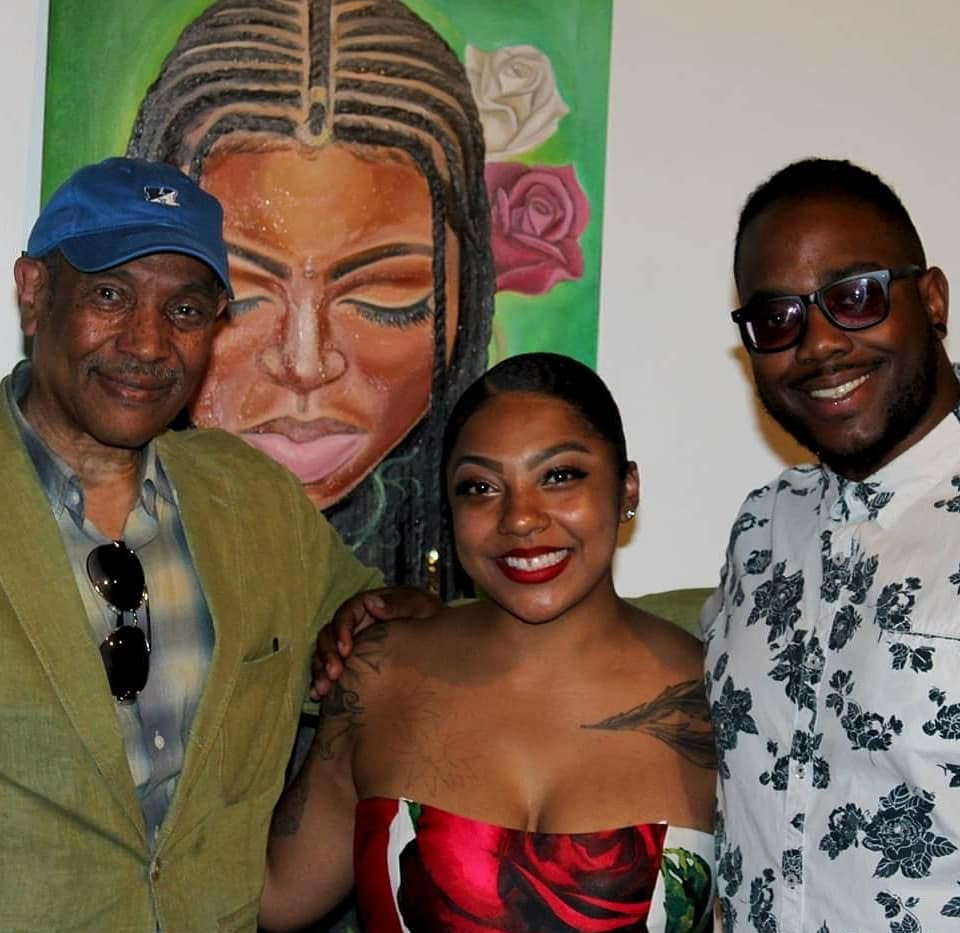 HMAAC : John Guess and Dominique Clay
