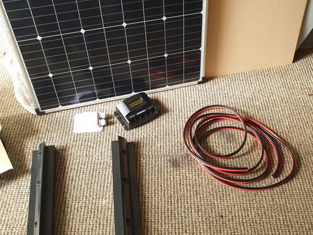 VW T5 Solar panel