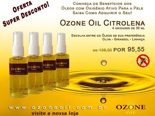 4 Ozone Oil Citronela 30 ml