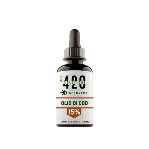 OLIO DI CBD 15% (1500MG) 10ML