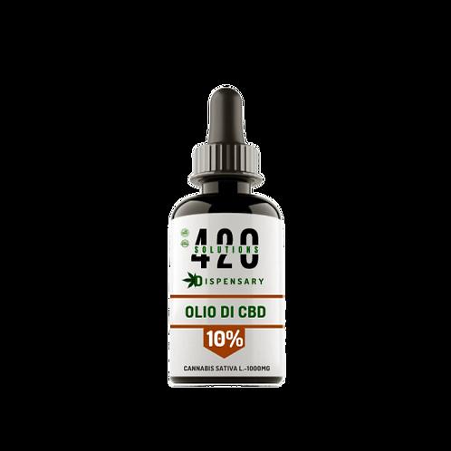 OLIO DI CBD 10% (1000MG) 10ML