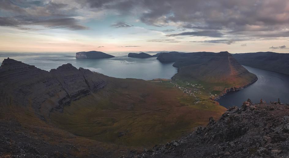 View at Viðareiði