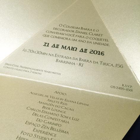 Comemoração de 1 ano Coliseum Barra
