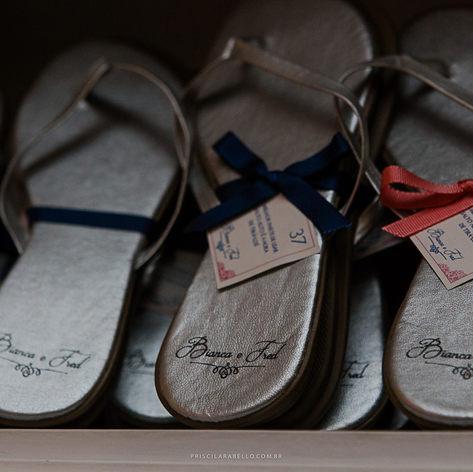 Tag para sandálias