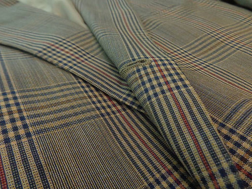 MADE IN ITALY 3/2 sack summer plaidjacketfor Faconnable.