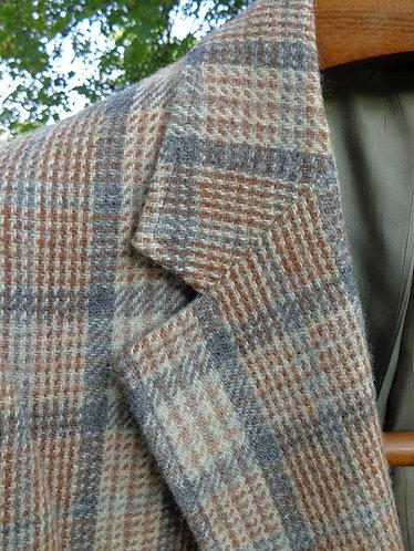 Classic Vintage Autumn-Winter Plaid Jacket