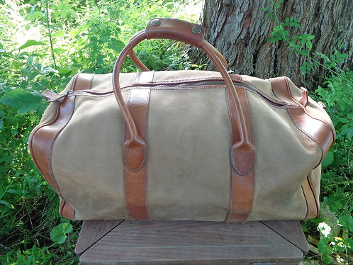 Leather Duffel Bag by J. Crew!