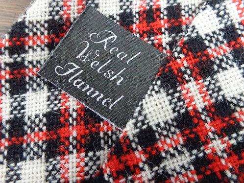 VINTAGE Welsh Flannel wool tie