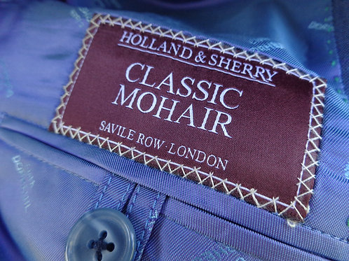 "Holland & Sherry's Savile Row, London"" Classic Mohair"" Jacket La Rukico Tailors"