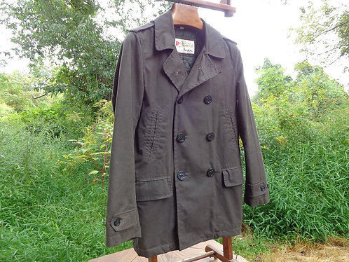 Waxed Cotton Peacoat