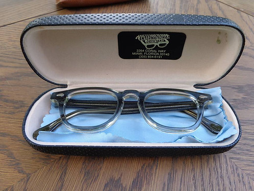 1960s Style Glasses Frame with original case