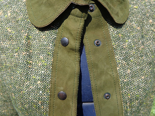 Emcar wool and suede suit