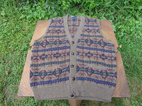 Polo Ralph Lauren Hand-Knit Fair Isle-Inspired Sweater Vest