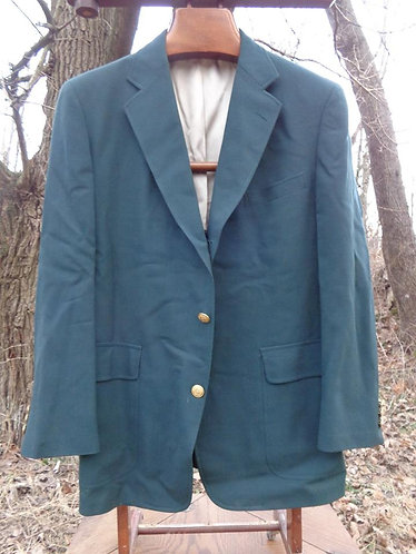 BEAUTIFUL 3/2 Sack Green Blazer from O'Connell's!