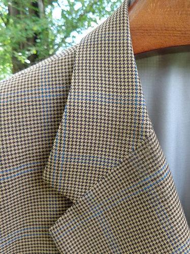 H. Freeman and Sons of Philadelphia, custom-made 3/2 sack Guncheck jacket.