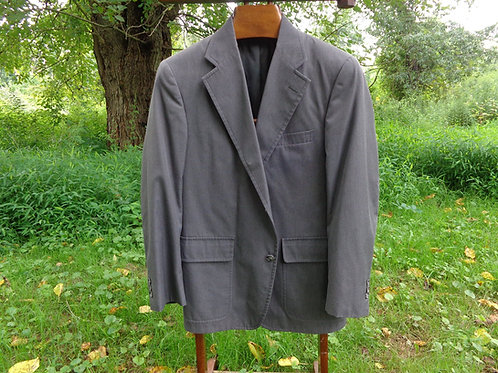 Wash-and-Wear 3/2 sack suit in Classic Slate Grey from Brooks Brothers!