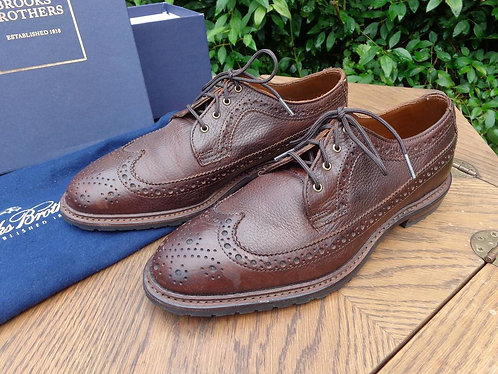 Brooks Brothers Sturdy Waxy Leather Brogues