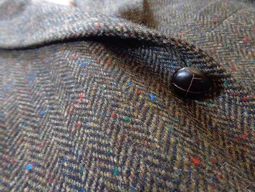 BEAUTIFUL Made in Ireland Donegal Tweed Jacket