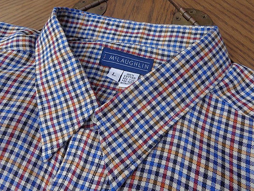 J. McLaughlin of Princeton check shirt