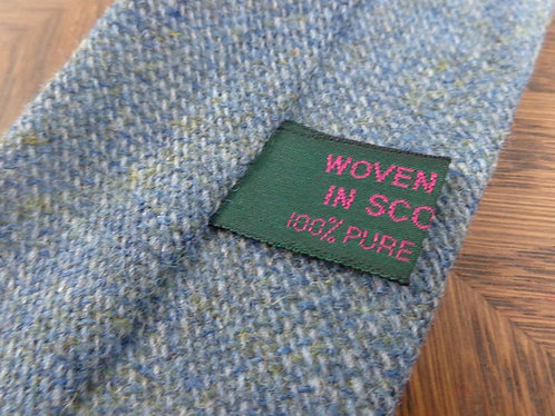 Woven in Scotland wool tie