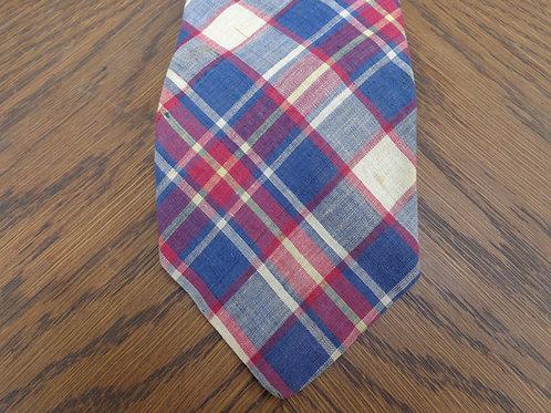 Vintage Brooks Brothers Madras tie