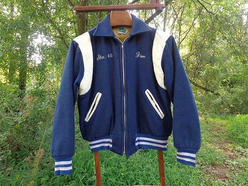 "1960's Vintage ""Letterman"" Collegiate Jacket"