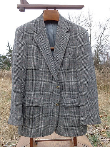 BEAUTIFUL Brooks Brothers Camelhair Glen Plaid Jacket
