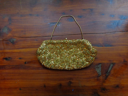 Julius Garfinckel Bead and Sequin Purse