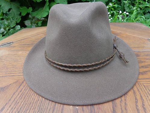 "WONDERFUL Paul Stuart """"Scout"" fedora!"