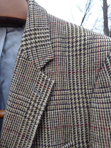 Vintage Brooks Brothers 3/2 Sack Tweed Jacket