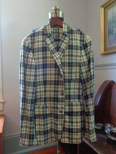 NWT ABSOLUTELY GORGEOUS Madras 3/2 Jacket