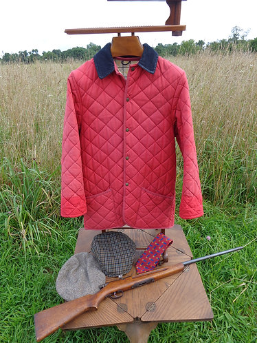 Cording of Piccadilly, London, Quilted Field Jacket.