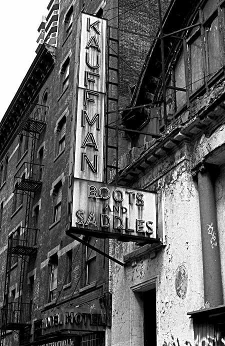 Kaufman and Sons Saddlery, of New York City.