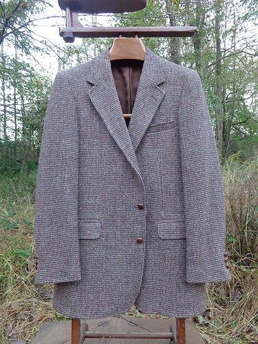 Harris Tweed Jacket in Rare Basketweave