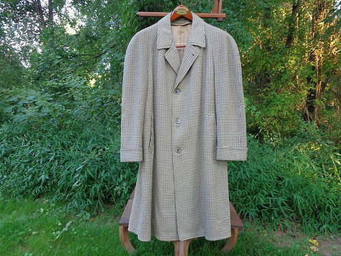 BEAUTIFUL VINTAGE 1950s TWEED OVERCOAT