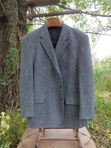 Recent Jos. A Banks Harris Tweed jacket in grey herringbone
