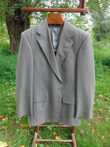 Bullock and Jones gingham-esque Jacket