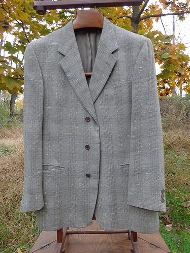 Zegna Soft jacket in wool and silk