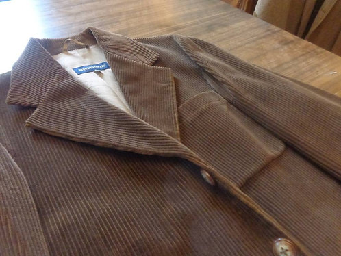 Britches of Georgetown Chocolate Brown Cord Jacket