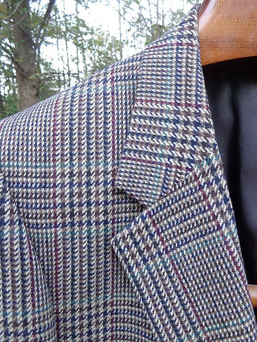 VINTAGE Burberry Lambswool Tweed--woven in Scotland