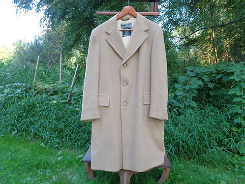 "Vintage Pure Cashmere ""Kashmara"" topcoat"