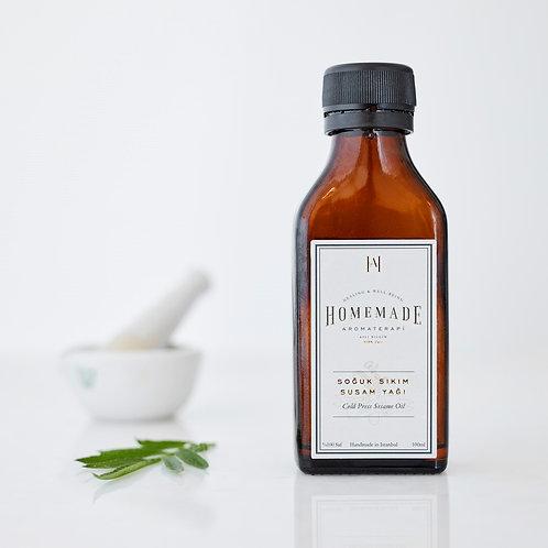 Homemade Aromaterapi SOĞUK SIKIM SUSAM YAĞI - 100 ml