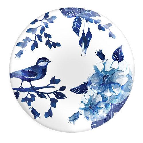 Fern&Co 4'lu Bleu Blanc Collection Kucuk Tabak Seti