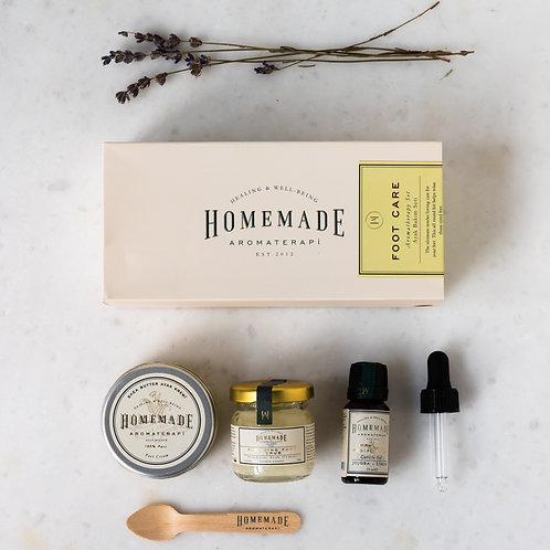 Homemade Aromaterapi FOOTCARE