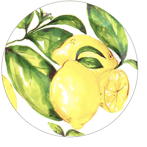 Fern&Co 4'lu Citrus Collection Buyuk Tabak Seti