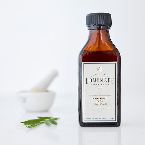 Homemade Aromaterapi SOĞUK SIKIM KANTARON YAĞI - 100 ml