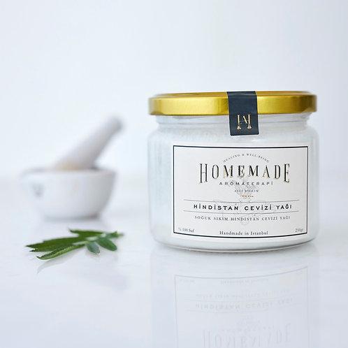 Homemade Aromaterapi SOĞUK SIKIM HİNDİSTAN CEVİZİ YAĞI - 250 gr