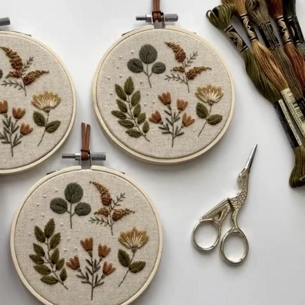 Embroidery Nakış Atölyesi | Online