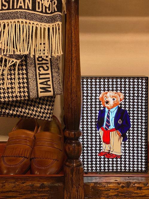 Vitelli Kazayaklı Teddy Bear Desenli Masa Lambası